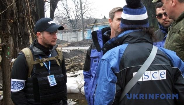 Боевики пустили ОБСЕ на границу с Россией