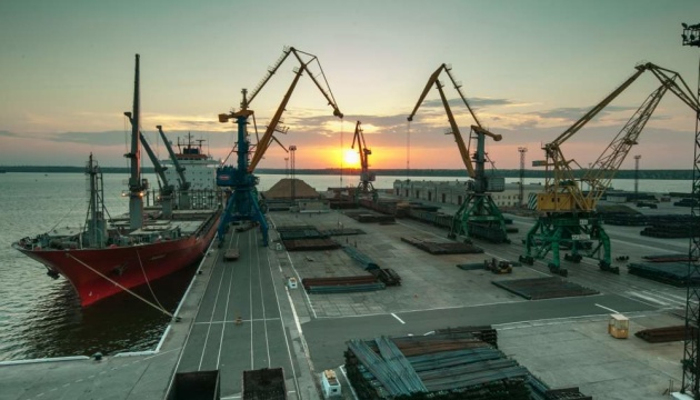 Mykolaiv seaport increases cargo transshipment by 23% in seven months