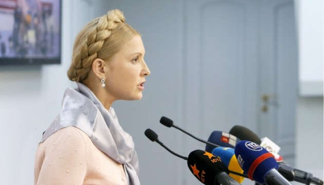 MP Yulia Tymoshenko meets U.S. Senator Christopher Murphy during her visit to USA