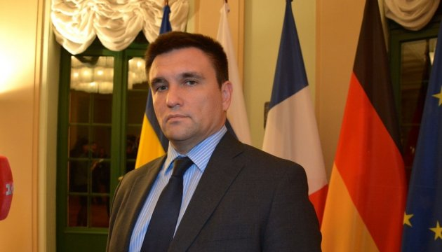 Klimkin discusses with foreign minister of Denmark issue of granting Ukraine visa-free regime