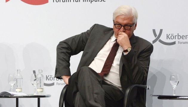 Steinmeier: Deutschland befasst sich in 2016 intensiv mit Donbass