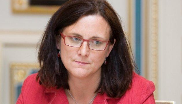 Преференції для України: торговий єврокомісар стурбована пропозиціями ЄП