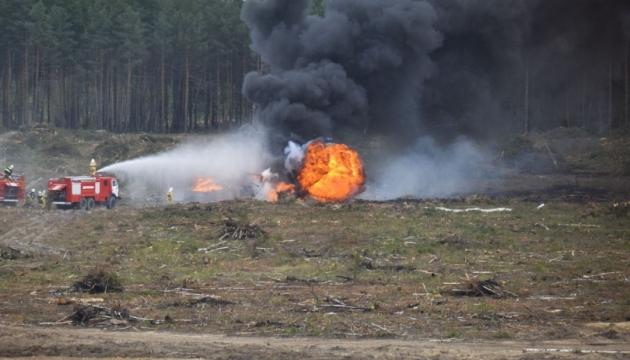 Генштаб: украинский вертолет разбился в Словакии еще в среду