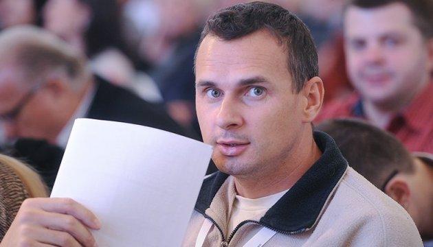 Sentsov wins PEN America award