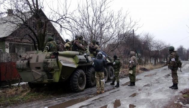 Штаб АТО: сьогодні бойовики гатили з мінометів, БМП і гармат