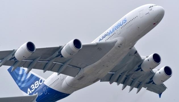 Airbus припиняє випуск найбільших авіалайнерів А380