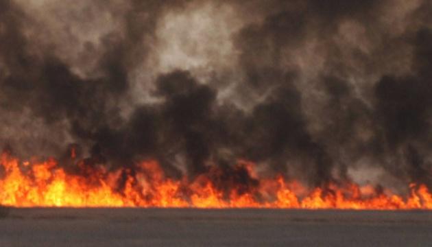 In Kyjiw herrscht weiterhin hohe Brandgefahr vor
