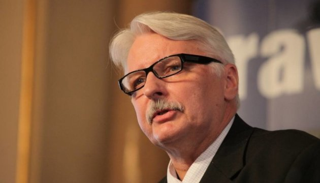 Polish-Ukrainian relations should not be imprisoned by the past – Foreign Minister of Poland Waszczykowski