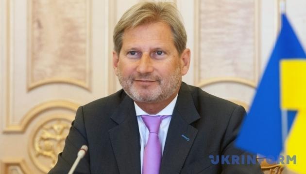 Єврокомісар Хан: Дані про візовий прогрес України є переконливими