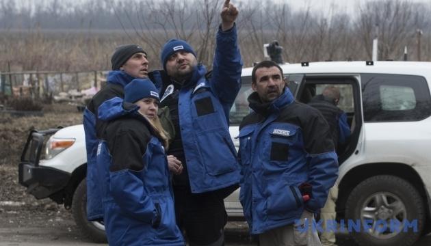 ОБСЄ: Найбільше обстрілів на Луганщині та поблизу Донецької фільтрувальної