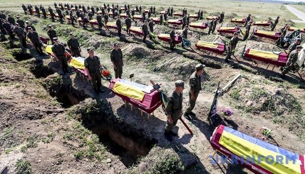 Генштаб: українська армія вже втратила 2673 бійці