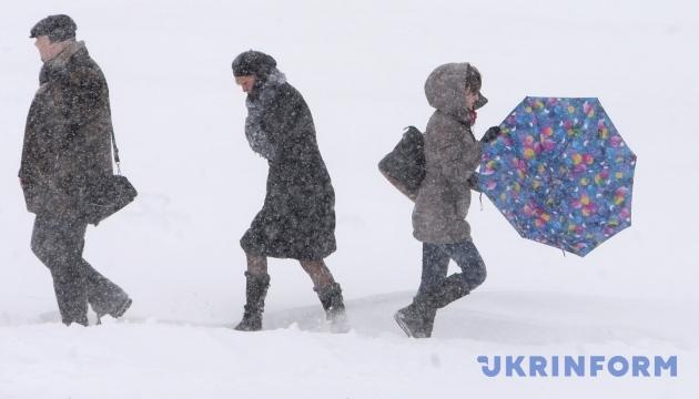 Українцям завтра обіцяють хуртовини