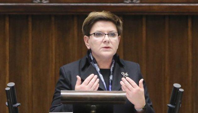 Польська опозиція ініціює вотум недовіри уряду Шидло
