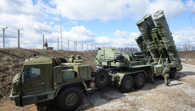 Росія встановила в окупованому Криму ракетні комплекси С-400
