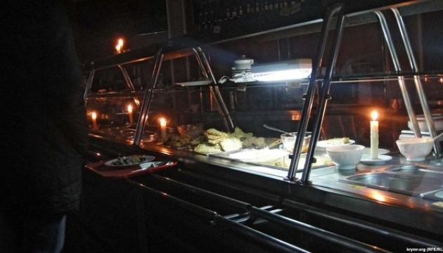 У Криму у святвечір горять підстанції й електропроводи