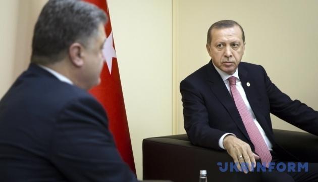 Freihandel, Krim, Polithäftlinge: Poroschenko und Erdogan sprechen in New York