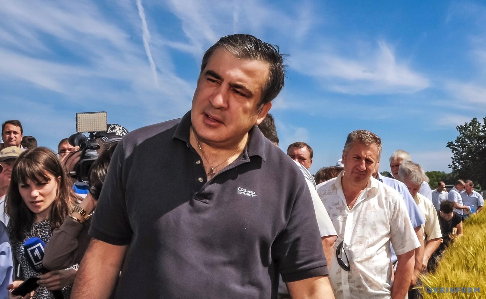 Михеїла Саакашвілі позбавили громадянства України,— ЗМІ