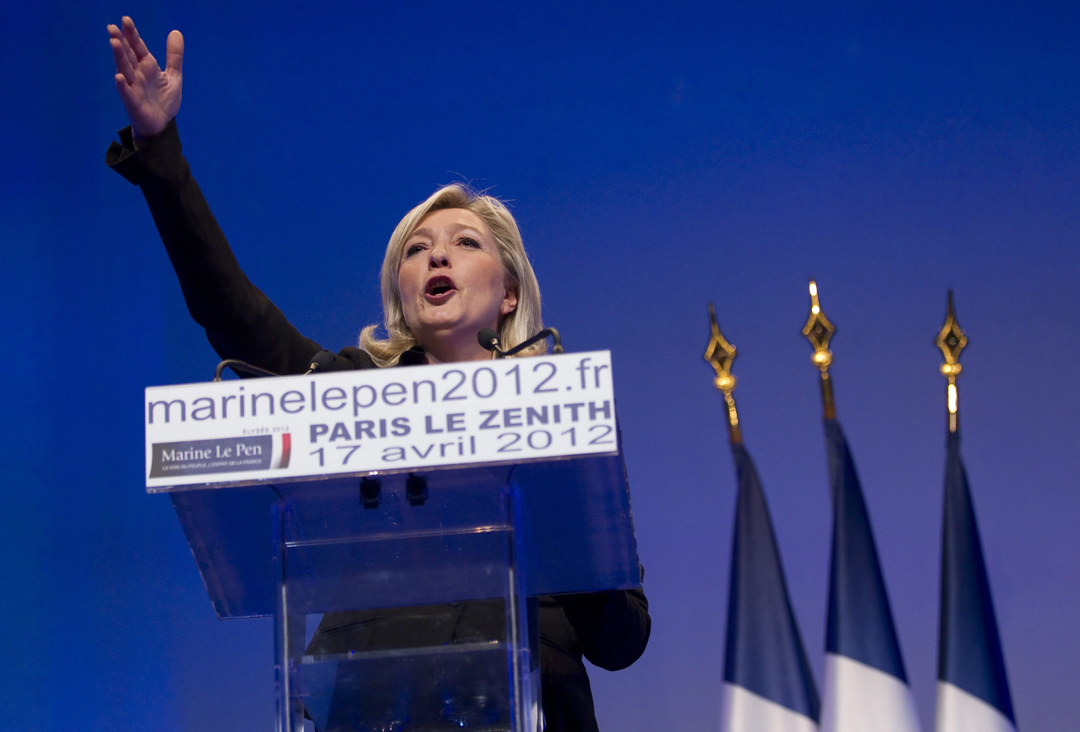 Марін Ле Пен / Фото: ТАСС