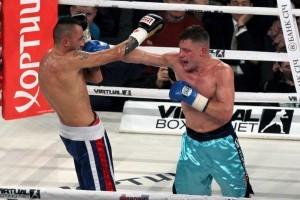 Бокс: Беринчик победил Сармьенто