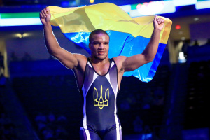 El ucraniano Zhan Beleniuk se convierte en dos veces campeón mundial de lucha grecorromana