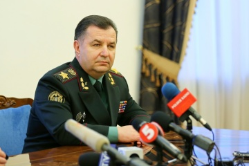 Defense minister Poltorak: Ukrainian army receives 120 new types of equipment in recent years