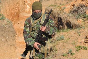 ATO: Militantes hacen fuego de  VCI por Starognativka
