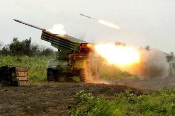 Militants launched 25 attacks on Ukrainian troops in Donbas in last day