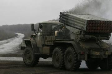 OSZE findet im besetzten Donbass nicht abgezogene Haubitzen, Kanonen und Raketenwerfer