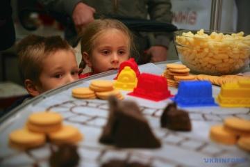 La fête du chocolat a commencé à Lviv vendredi
