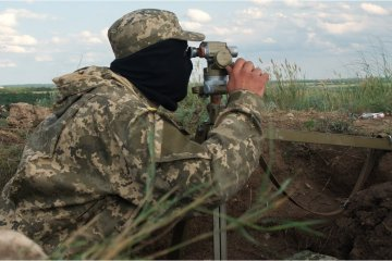 Militants launched 35 attacks on Ukrainian troops in Donbas in last day