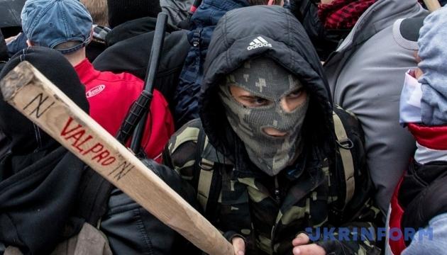 Інтерпол оголосив у розшук «тітушок» за злочини проти Майдану