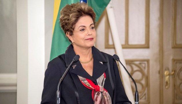 Імпічмент у Бразилії: Ділма Русеф захищається в Сенаті