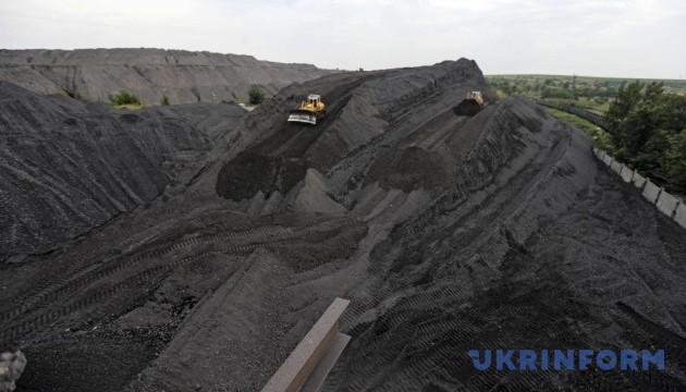 В Україні за пів року видобули 15 мільйонів тонн вугілля