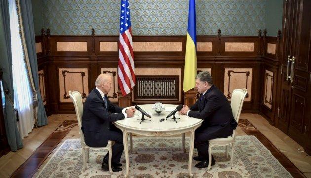 Proshenko, Biden discuss importance of IMF tranche for Ukraine
