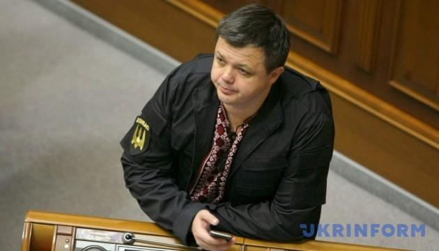 Березюк розповів про офіцерське звання Семенченка