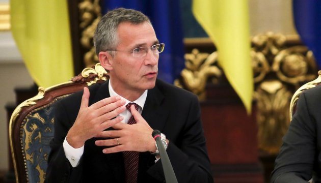 NATO Secretary General says he's waiting for next meeting with Poroshenko