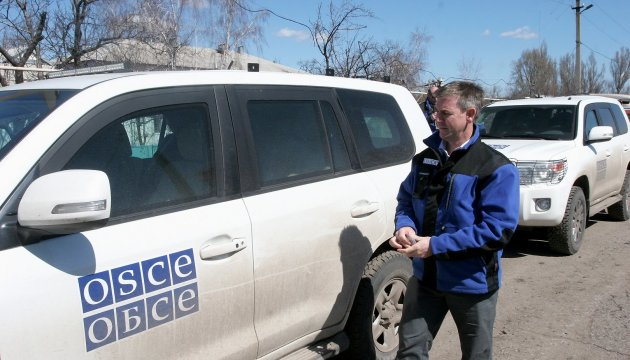 OSCE records fewer ceasefire violations in Donetsk region and more in Luhansk region