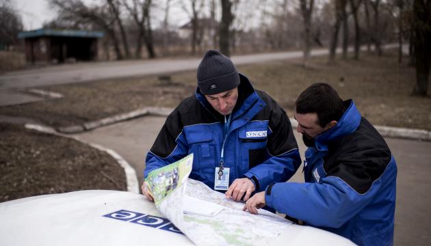 Российские наемники не пустили патруль ОБСЕ в оккупированный Новоазовск