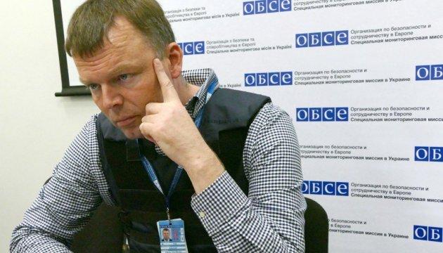ОБСЄ заявляє про невідведені танки на окупованому Донбасі