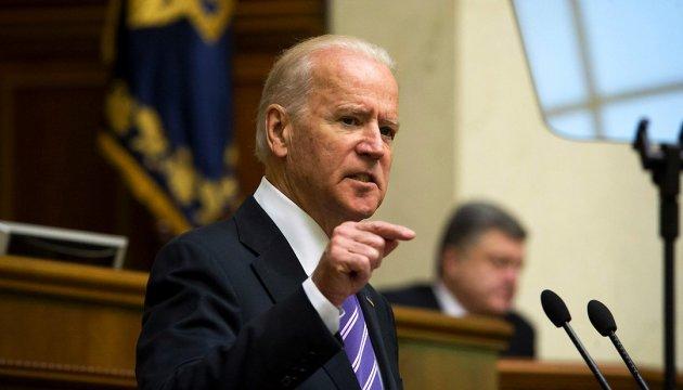 Biden welcomes replacement of Shokin