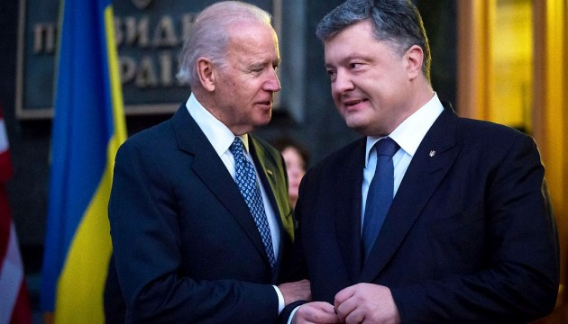 Poroshenko, Biden discuss range of issues in latest telephone conversation