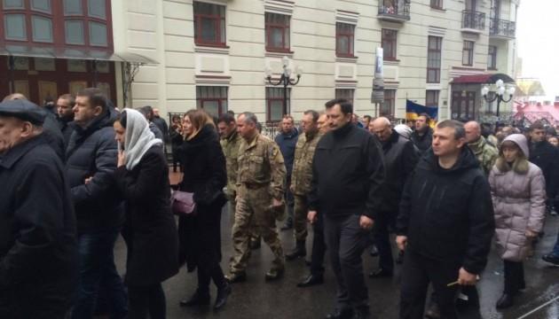 У Києві поховали загиблого під час спецоперації «альфівця»