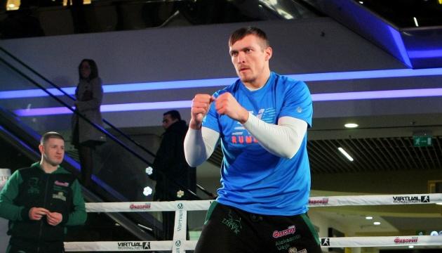 Boxen: Usyk erklärt sich bereit für Heavyweight