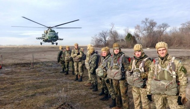 President Poroshenko: 415 paratroopers killed during ATO