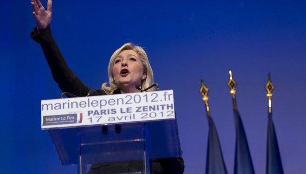 En el SBU informan sobre la carta de prohibición de entrada de Le Pen a Ucrania