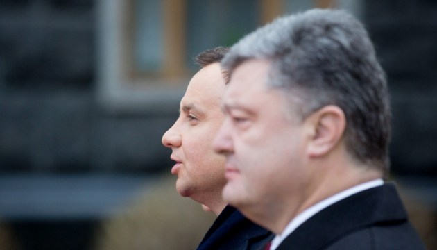 Порошенко й Дуда говоритимуть про Донбас і варшавський саміт НАТО