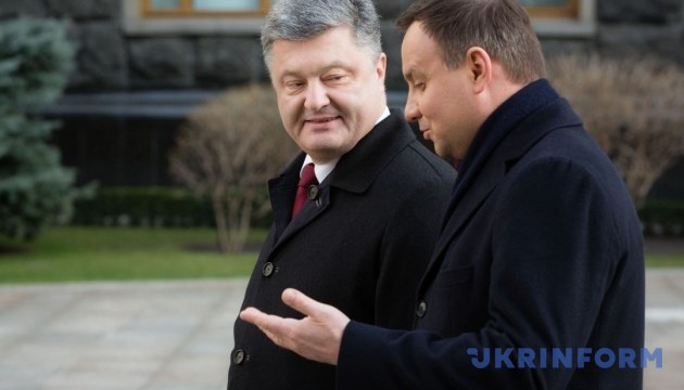Poroshenko and Duda to meet at summit in United States