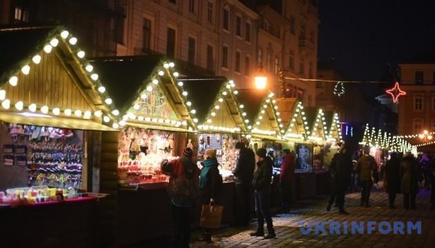 У Львові влаштували Різдвяну вечерю просто неба