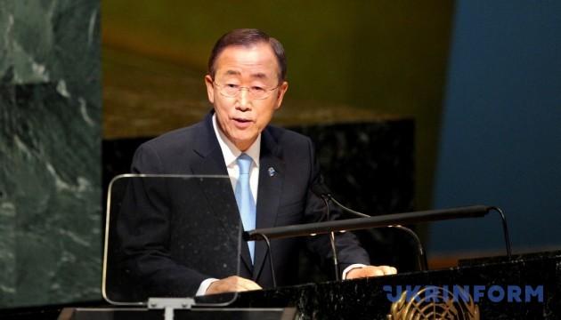 Пан Гі Мун закликав Пхеньян припинити провокації