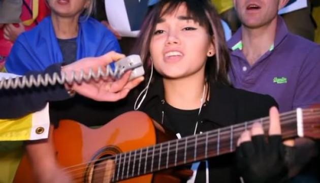 Співачка з Великобританії хоче представити на Євробаченні-2016 пісню про війну в Україні